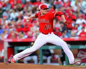 Garrett Richards 2014 Action