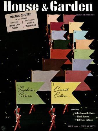 House & Garden Cover - April 1941
