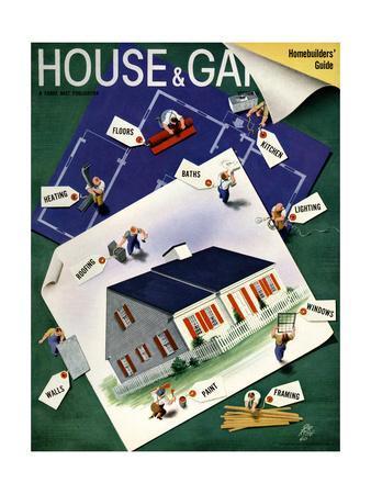 House & Garden Cover - March 1940