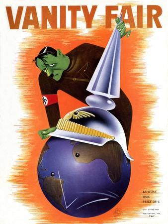 Vanity Fair Cover - August 1935