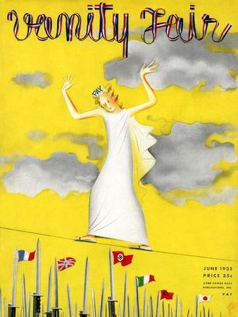 Vanity Fair Cover - June 1935