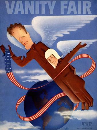 Vanity Fair Cover - October 1935