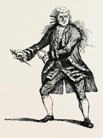 Garrick as Macbeth, Shakespeare, English Poet and Playwright, 1564-1616, UK, 1893