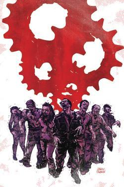 Zombies vs. Robots: Undercity - Cover Art by Garry Brown