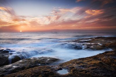 Sunset, Western Shore of Tenerife in the Canary Islands, Spain, Atlantic, Europe by Garry Ridsdale