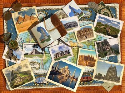 Wonders of the World Postcards