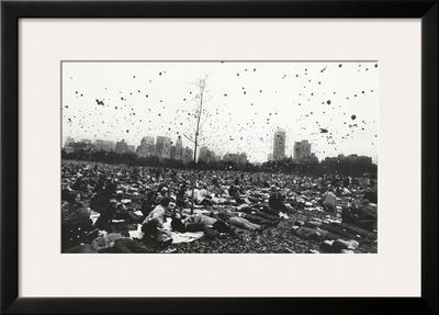 Peace Demonstration, Central Park, New York, c.1970