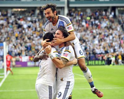 2014 MLS Cup Final: Dec 7, New England Revolution vs LA Galaxy by Gary A. Vasquez