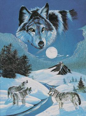 Howling Wolves by Gary Ampel