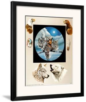 Moonlit Warrior by Gary Ampel