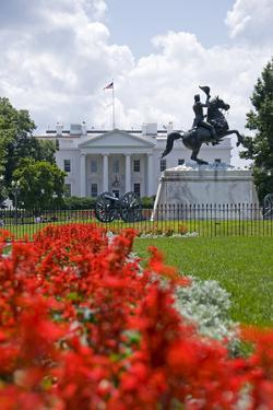 White House from Lafayette Park by Gary Blakeley
