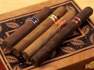 Premium Hand Rolled Cigars on Box by Gary Conner