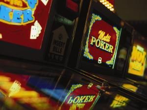 Video Gambling Machines at Casino, NV by Gary Conner