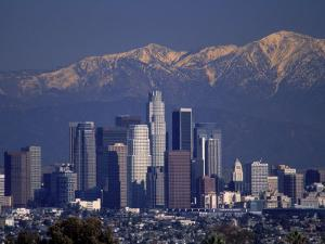 View of San Gabriel Mountain, Los Angeles by Gary Conner