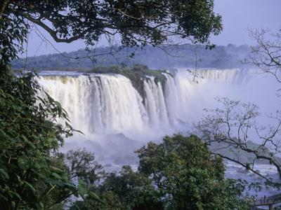 Brazilian Side of Iguazu Falls (Iguacu), on the Border Between Argentina and Brazil by Gary Cook