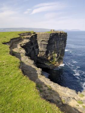 Cliffs at Downpatrick Head, Near Ballycastle, County Mayo, Connacht, Republic of Ireland (Eire) by Gary Cook