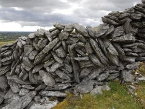 Dry Stone Wall on the Burren, County Clare, Munster, Republic of Ireland by Gary Cook