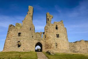 Dunstanburgh Castle, Northumberland, England, United Kingdom, Europe by Gary Cook