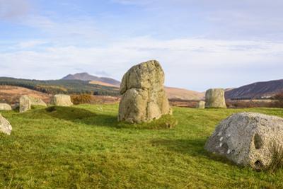 Fingals Cauldron, Machrie Moor stone circles, Isle of Arran, North Ayrshire, Scotland, United Kingd by Gary Cook