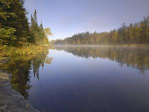 Hoe Lake, Boundary Waters Canoe Area Wilderness, Superior National Forest, Minnesota, USA by Gary Cook