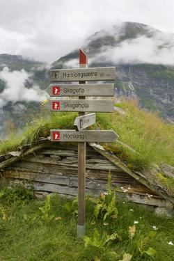 Homlongsaetra Mountain Farm, Geirangerfjorden Near Geiranger, UNESCO Site, More Og Romsdal, Norway by Gary Cook