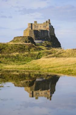Lindisfarne Castle, Holy Island, Northumberland, England, United Kingdom, Europe by Gary Cook