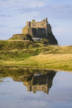 Lindisfarne Castle, Holy Island, Northumberland, England, United Kingdom, Europe by Gary Cook