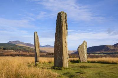 Machrie Moor stone circles, Isle of Arran, North Ayrshire, Scotland, United Kingdom, Europe by Gary Cook