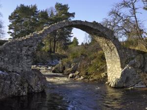 Old Packhorse Bridge, Carrbridge, Highlands, Scotland, United Kingdom, Europe by Gary Cook