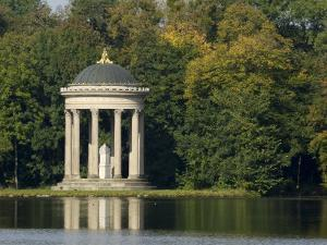 Pavilion or Folly in Grounds of Schloss Nymphenburg, Munich (Munchen), Bavaria (Bayern), Germany by Gary Cook
