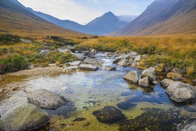 Sannox Burn, Glen Sannox, Isle of Arran, North Ayrshire, Scotland, United Kingdom, Europe by Gary Cook