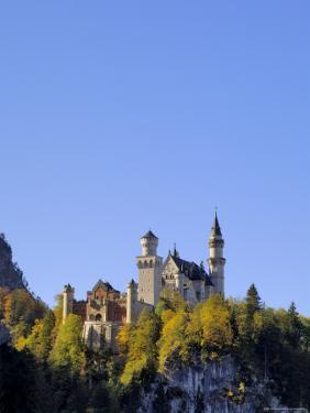 Schloss Neuschwanstein, Fairytale Castle Built by King Ludwig II, Near Fussen, Bavaria, Germany by Gary Cook