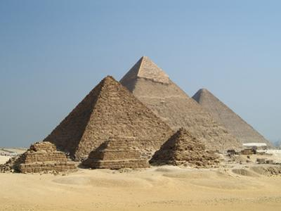 The Giza Pyramids, Cairo, Egypt by Gary Cook