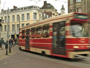 Tram, Den Haag (The Hague), Holland (The Netherlands) by Gary Cook