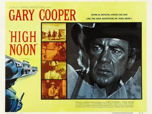 "GARY COOPER. ""HIGH NOON"" [1952], directed by FRED ZINNEMANN."