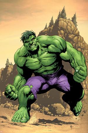 Incredible Hulk No.75 Cover: Hulk by Gary Frank