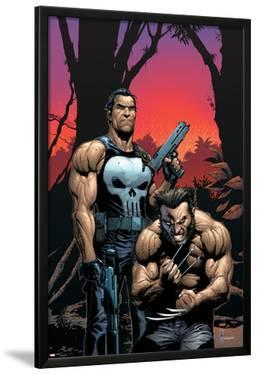 Wolverine Punisher No.2 Cover: Wolverine and Punisher by Gary Frank