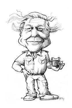 David Attenborough, British Naturalist by Gary Gastrolab