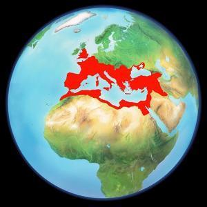 Roman Empire, Artwork by Gary Gastrolab