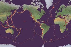 Earth's Volcanoes And Earthquakes by Gary Hincks