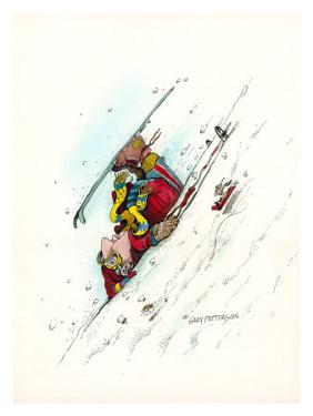 Downhill Racer by Gary Patterson