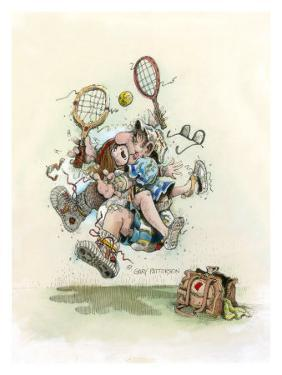 Mixed Doubles by Gary Patterson