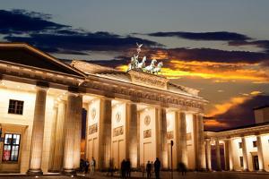 Brandenburg Gate at Sunset in Berlin by Gary718