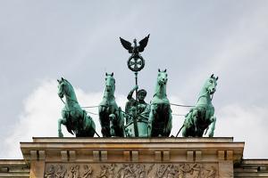 Brandenburg Gate in Berlin by Gary718