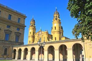 The Scenery at the Residenz and Odeonsplatz in Munich by Gary718