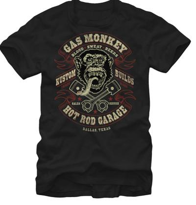 Gas Monkey- Blood Sweat Beers