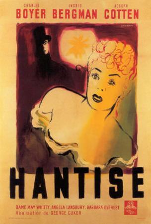 Gaslight, Belgian Movie Poster, 1944