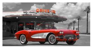 Historical diner, USA by Gasoline Images