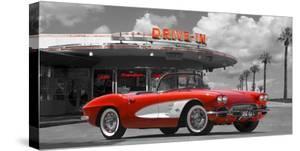 Historical diner, USA by Gasoline Images