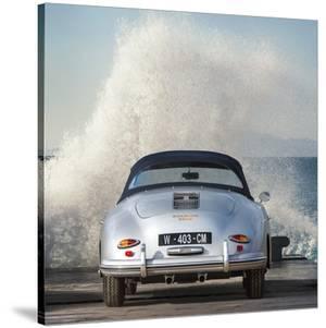 Ocean Waves Breaking on Vintage Beauties (detail 2) by Gasoline Images